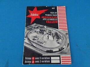 """Faller - Märklin """"Pour un Premier Train"""" 1960 Leaflet"""