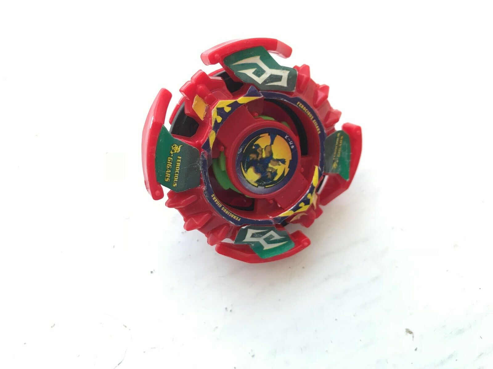 RARE HASBRO ORIGINAL CLASSIC FIRST GENERATION rot rot rot FEROCIOUS GIGARS BEYBLADE 2a9ea4