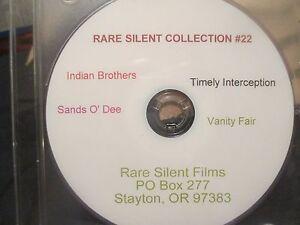 Coleccion-Rara-Silencioso-22-4-Silencioso-peliculas-indio-Bros-vanidad-lejos-Arenas-o-039-dee