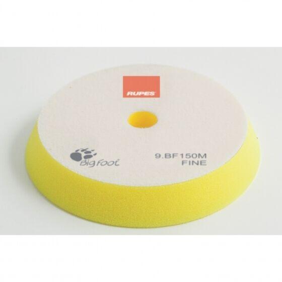 RUPES Polierschwamm FINE fein (gelb) Ø130/150mm