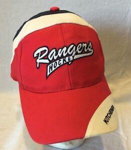 7cfcfd28939c3 Kitchener Rangers Hockey OHL Ball Cap Adult Hook Loop Baseball Hat ...