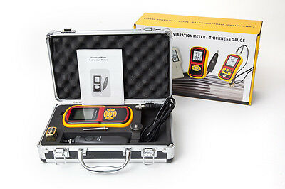 Gutherzig Digital- Vibration Meter Vibrometer Prüfgerät Analysator 12 Monate Garantie