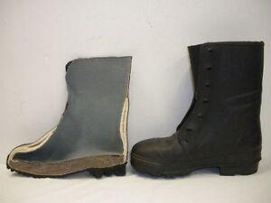 bottes en caoutchouc armee francaise 1940