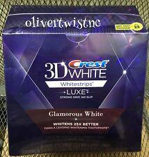 NEW Crest 3D Glamorous White Whitestrips 14 Treatments 28 Strips EXP APRIL 2018
