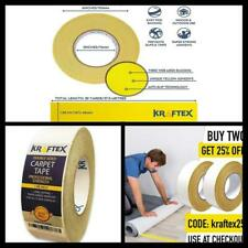 For Rugs Mats Carpet Tape 90ft Roll Pads Gripper Double Sided Adhesive