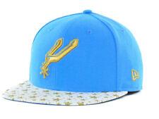San Antonio Spurs NBA Star Hook New Era 59Fifty Fitted Flat Bill Brim Hat Cap TX