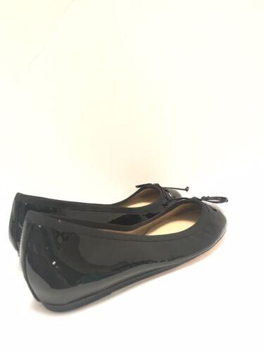 Fifth Bow Saks Avenue Retail195 Flats 5 10022 Sz lakleder Ballet schoen 8knwOP0