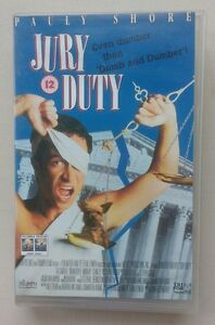 Jury Duty RARE VHS Pauly Shore Brian DoyleMurray  Stanley Tucci COMEDY - <span itemprop=availableAtOrFrom>London, United Kingdom</span> - Jury Duty RARE VHS Pauly Shore Brian DoyleMurray  Stanley Tucci COMEDY - London, United Kingdom