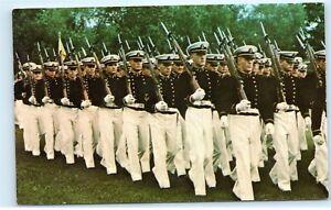 1970s-Brigade-Midshipmen-Parade-United-States-Naval-Academy-Vintage-Postcard-C59