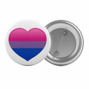 Bisexual-Flag-Love-Heart-Badge-Button-Pin-1-25-034-32mm-Bi-Pride-LGBT