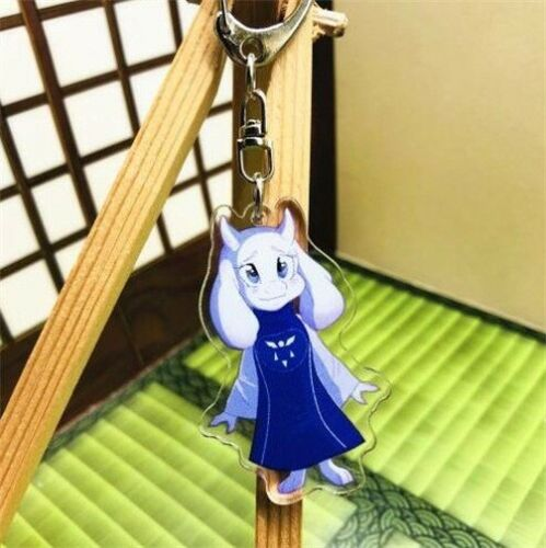 Anime Undertale Sans Toriel Papyrus PKEY CHAIN Pendant Buckle Key Ring Gift