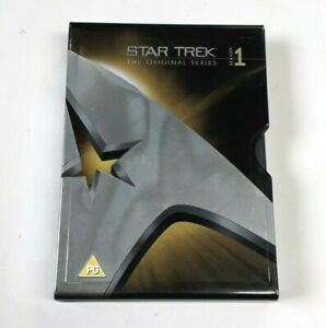 STAR-TREK-The-Original-Series-Season-1-DVD-Box-Set-Metal-Tin