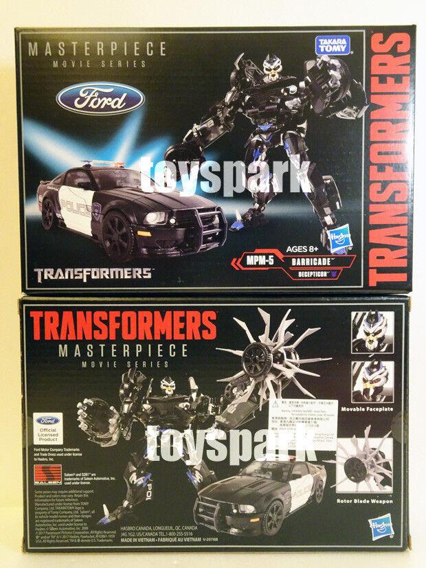 Takara TRANSFORMERS Masterpiece Movie Series MPM-05 BARRICADE mpm-5 figure