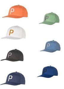 4101d1c4a1a Cobra Puma golf Hat 021448 P 110 Snapback Latest Colors Cap Choose ...