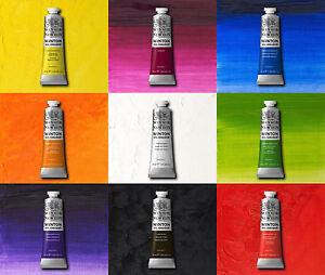 Winsor-amp-Newton-Winton-pittura-ad-olio-37ml-amp-200ml-Tubi-Tutti-i-colori-disponibili