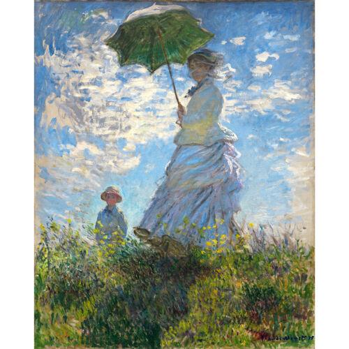Señora Monet con Parasol e hijo Reproducción Lienzo con o sin Bastidor Monet