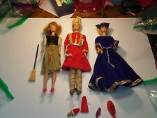 1960s Barbie Theater Case with matching Dolls with original Black label Costumes