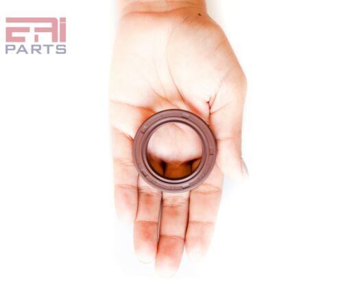 "EAI Double Lip w// Spring 1.260 /"" x 1.850 /"" x 0.276 /"" Viton Oil Seal 32X47X7 TC"