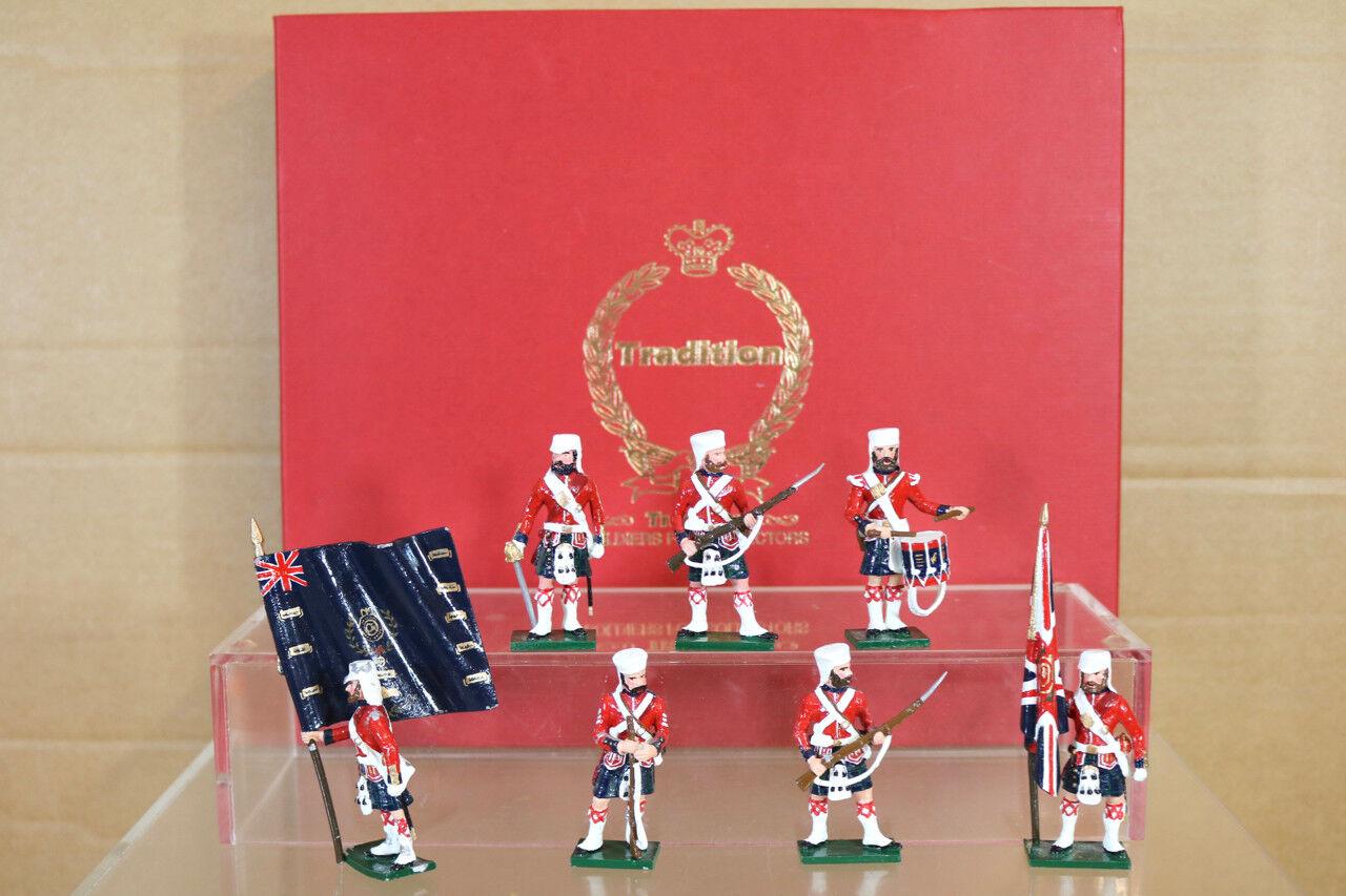 Traditioneller Spielzeugsoldaten 1103 Indisch Meuterei 1857 42nd blacke Uhr