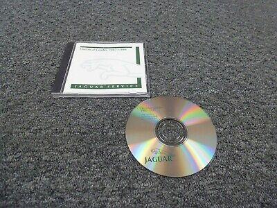1987-1988 Jaguar XJ XJ6 Sedan Electrical Wiring Diagrams ...