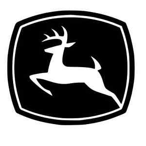 john deere sticker decal overlay emblem ebay rh ebay com john deere emblem pictures john deere symbol pictures