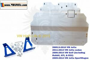 The Ultimate Rally Style Skid Plate for VW GOLF SPORTWAGEN JETTA WAGON MK5 MK6