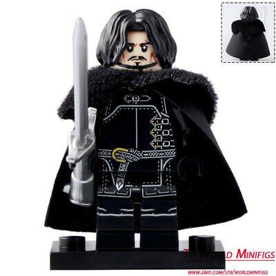 1x Large Figure Tail queue griffe barb claw horn noir//black 87846 NEUF Lego