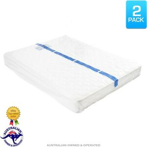 Image is loading 2-Queen-Double-Bed-Plastic-Mattress-Protector-Storage-  sc 1 st  eBay & 2 Queen/Double Bed Plastic Mattress Protector Storage Bag Dust Cover ...