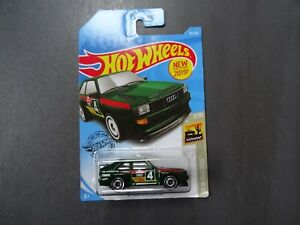 NIB NEW 2019 Hot Wheels 43//250 /'84 Audi Sport Quattro #7//10 HW Baja Blazers