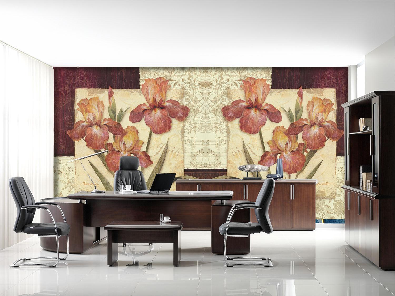 3D Leaf Flower 4151 Wallpaper Murals Wall Print Wall Mural AJ WALLPAPER UK Carly