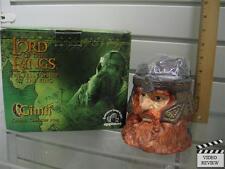 Gimli Mug; Lord of the Rings; Fellowship; Applause; New; Box; 2001; Lid for Cup