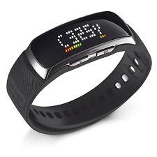 Golf Buddy BB5 Golf Range Finder Wrist Band GPS Band Watch w/ Pedometer, Black