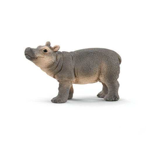Schleich Wild Life 14831 Hippopotame jeune