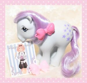 ❤️My Little Pony MLP G1 VTG 1982 Bluebelle Collector Pose Pony Flat Foot FF❤️