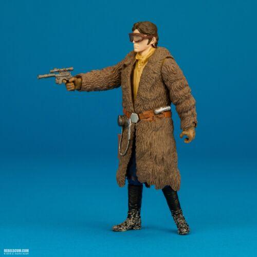 young Han Solo Star Wars Vandor Mission fur coat Force Link 3.75 5POA complete