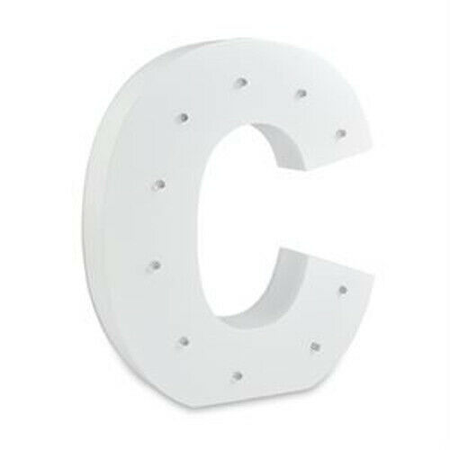 LED Light UP Wooden Letters Wall Hanging Party Home Shop Decor Large Alpha Art