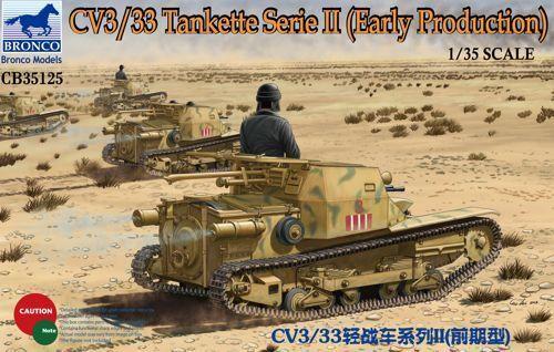 Bronco 1 35 CV3 33 Tankette Series II Early Production CB35125