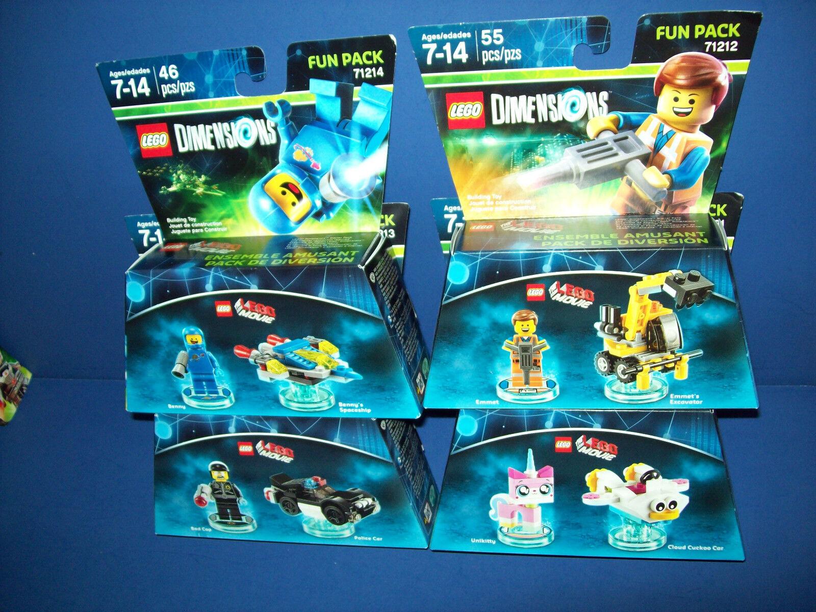Lego Film 4 Abmessungen Viele 71212 71214 71231 71213 Emmet Böser Polizist