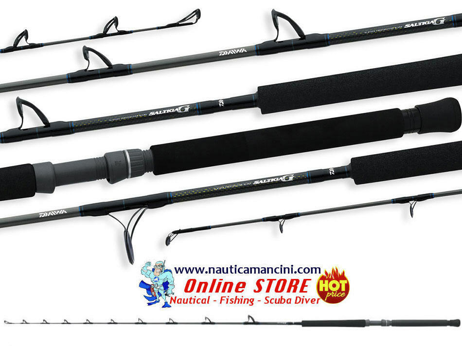 Canna da traina Daiwa Saltiga G BT 7' 2.10mt LB 1020  1225  1530  2040