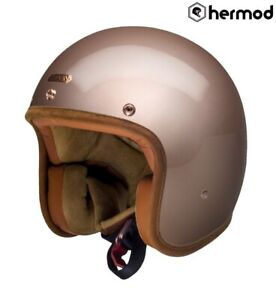 Hedon-Hedonist-Ouvert-Casque-Moto-Champagne