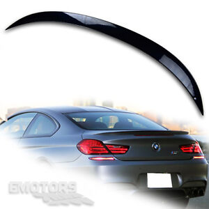 painted bmw f13 2d coupe 6 series abs m6 rear trunk boot spoiler rh ebay co uk