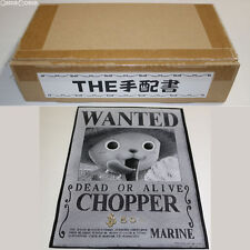 [USED] Ori Art The Wanted Poster 02 Chopper One Piece Toy BANDAI Japan