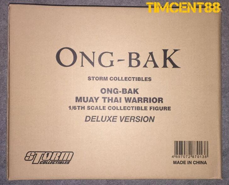 listo Storm Toys Coleccionables ONG-BAK Tony Jaa El Guerrero tailandés Ting Deluxe Set