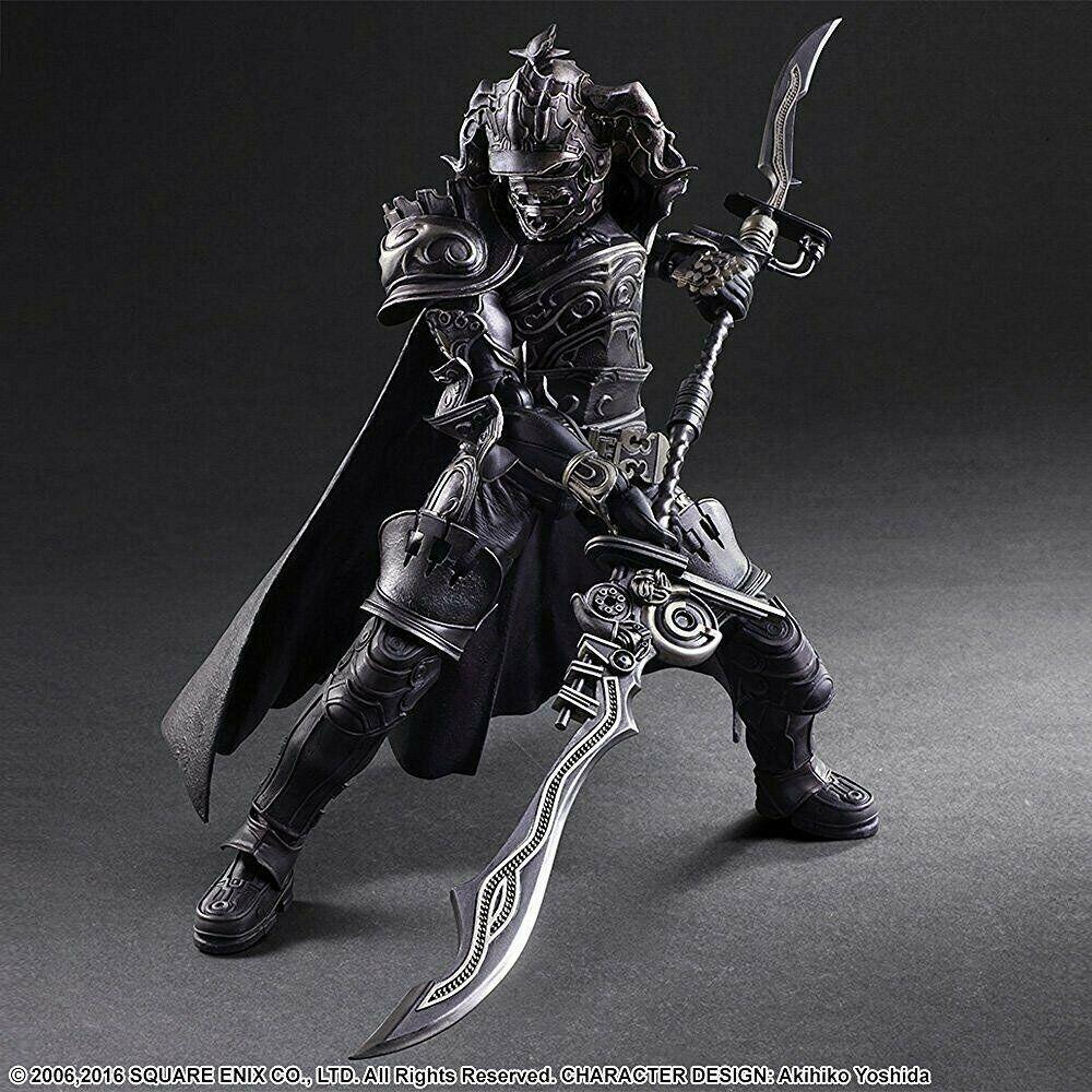 Spela konsts kai Final fantasi XII Gabranth Action Figur Square Enix