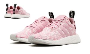 Adidas Damen Originals NMD R2 Schuh Wonder Rosa BY9315