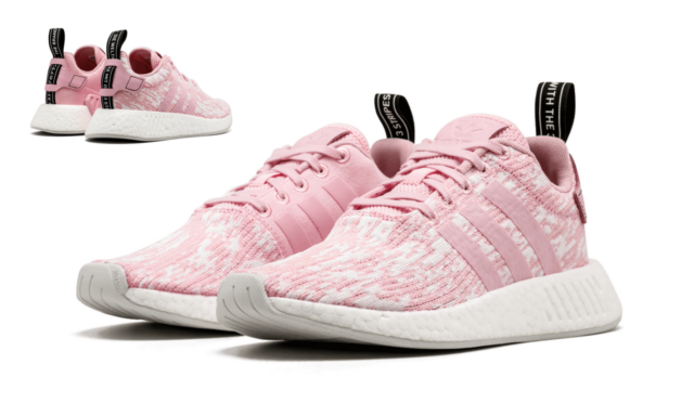 Incorrecto tema Vagabundo  adidas NMD R2 Damen Schuhe Freizeit Sneaker BY9315 rosa/weiss | eBay