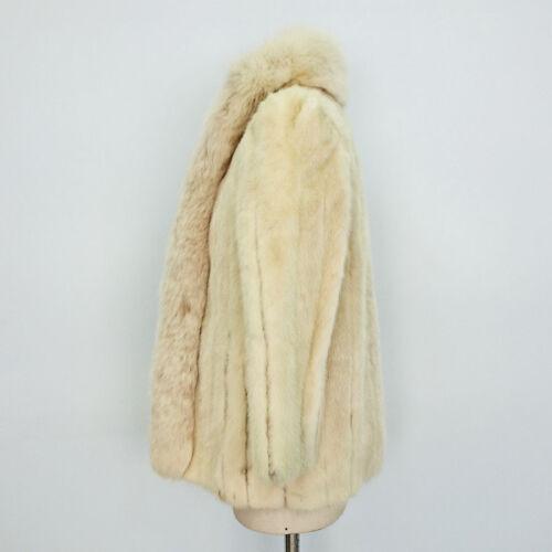 Giacca Art Volpe Con Pelliccia In Di Visone Collo 7039 Faberge Vintage zqAx0r4wz