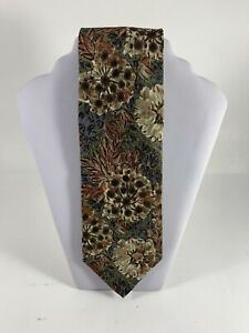 Valentino-039-s-for-Men-Cravatte-Silk-Tie-Made-in-Italy-Multicolor-Floral