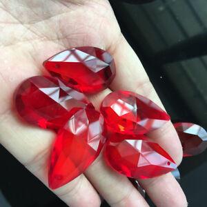 5Pcs Feng Shui Chandelier Crystal Drop Lamp Prism Suncatcher DIY Pendant 38MM