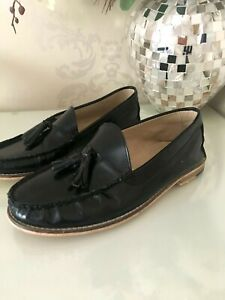 topman black loafers